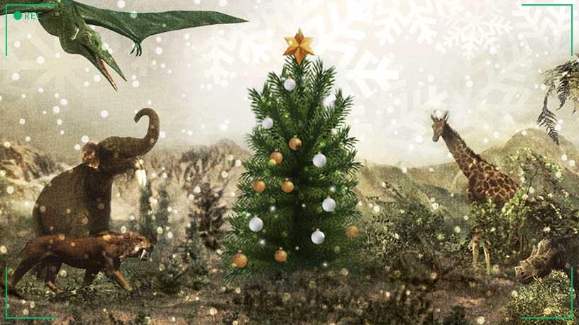 Vánoce s dinosaury v Muzeu Karla Zemana