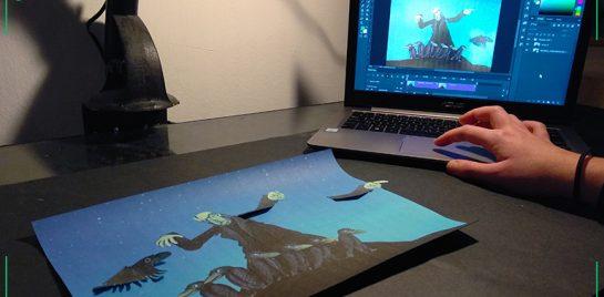 Čarodějný workshop ploškové animace 4. 4. 2020